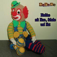 Häkelanleitung von Dadade, Clown