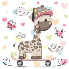 детское, жираф