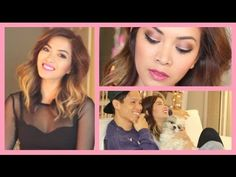 Get Ready With Me ♡ Valentine's Day & Night Makeup + Outfit! - ThatsHeart - YouTube