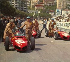 Ferrari 156 Sharknose, at Monaco 1962.