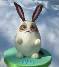 Grumpy Easter Bunny Cake - Imgur