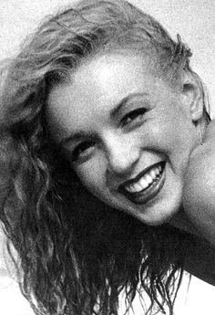 Marilyn Monroe  -- before her little nose change & her2 heart implants in her chin, to make her perfect!