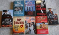 Joan Johnston Lot of 8 Heartbeat Colter's Wife Hawk's Way Brides Outcast