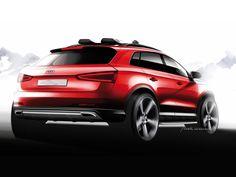 Audi Q3 Vail Design Sketch