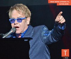 #NowPlaying: Elton John and his songs for the soul.