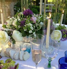 Outdoor table decoration
