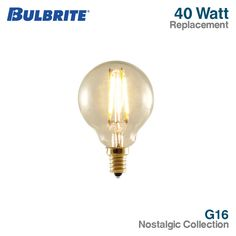 Bulbrite 776506 G25 Globe Shape LED Filament Light Bulb with Candelabr – LED Light Bulbs