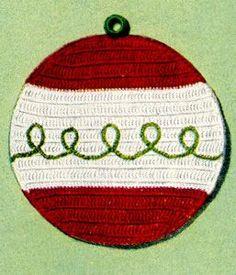Holiday Potholder Pattern