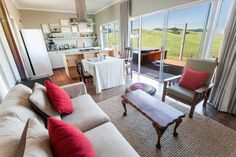 Stylish Executive Self Catering Lodge on the resort at The Windmills, KZN. Plan your trip: www.midlandsmeander.co.za #placestogo Midland Meander, Kwazulu Natal, Outdoor Furniture Sets, Outdoor Decor, Stay The Night, Plan Your Trip, Places To Go, Windmills, How To Plan