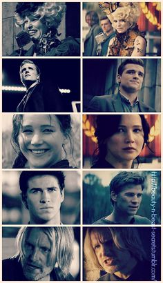 The character development was so good in Catching Fire, especially with Effie and Gale !