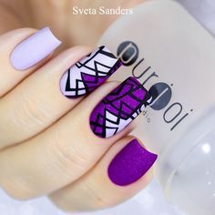 Nail art is the perfect way to express yourself, and matte nails are the hottest new trend to make this expression more fun and personalized. Nail art and a matte…View Post Purple Nail Art, Yellow Nails, Pastel Nails, Classy Nails, Stylish Nails, Trendy Nails, Halloween Acrylic Nails, Best Acrylic Nails, Manicure