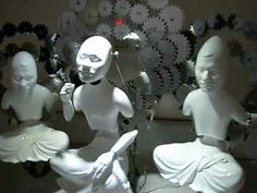 Mechanical Buddhas and Other Religious Icons by Wang Zi Won..