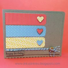 CAS Birthday HSS125 & Retro Sketches #18 by gidgetmd - Cards and Paper Crafts at Splitcoaststampers