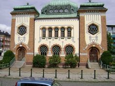 Malmö Synagogue ‎) is the only synagogue in Malmö, Sweden. It was built in 1903 - designed by the architect John Smedberg, and has an Art Nouveau and Moorish Revival design. The services of worship are orthodox.