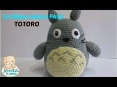 Tutorial paso a paso de Amigurumis: Totoro - YouTube Totoro, Amigurumi Toys, Crochet Baby, Your Child, Spiderman, Free Pattern, Beanie, Sewing, Knitting
