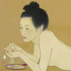 Japanese Art Prints, Japanese Painting, Art Illustrations, Illustration Art, Pose Reference Photo, Face Art, Asian Art, Contemporary Artists, Art Boards