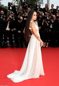 Zoe Kravitz Cannes 2015