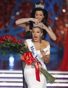 Miss America 2013 - Mallory Hagan (NY)- Crowned on Jan 12, 2013