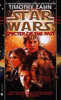 Specter of the Past by Timothy Zahn We got this for Dad one year on Audio Cassette, I listened to it, but I don't remember much