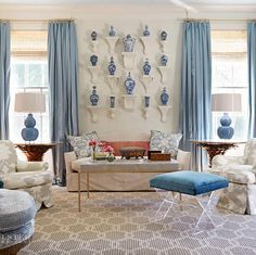 Artfully Arranged: 10 Rooms Featuring Inspiring Wall Groupings | Janie Molster Designs | Richmond, VA