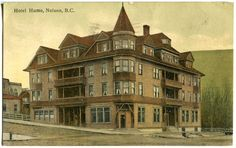 The Hume Hotel is a Nelson landmark, but it apparently wasn't the only one in the Kootenays by that name.