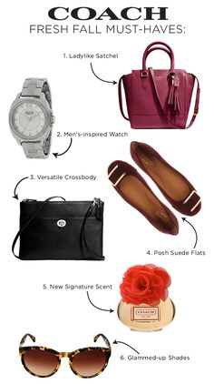 6 Fall Essentials from COACH