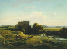 Benouville View of the Ponte Nomentano in the Roman Campagna - Jean-Achille Benouville - Wikipedia, the free encyclopedia