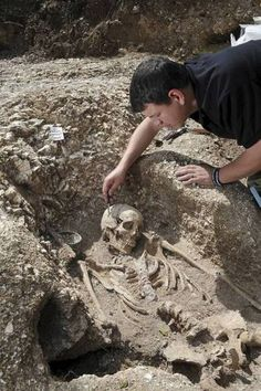 Sixth-century Anglo-Saxon woman discovered by British soldiers in Operation Nightingale