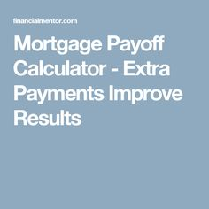 loan paydown calculator extra payments