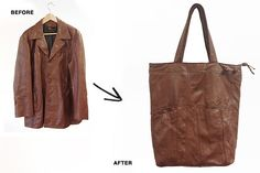 reMade USA - we repurpose vintage leather jackets into new one-of-a-kind handbags