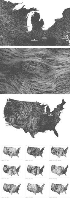 carte du vent sur http://graphism.fr/datavisualisation-prenez-le-vent-en-temps-rel
