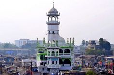 Masjid Mosque in Patna, Bihar, India. It is located near the Patna Junction train station and Buddha Smriti Park.
