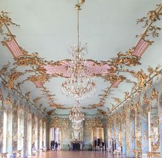 Someday, I want to dance in a ballroom with my love ~ how beautiful. Charlottenburg Palace ~ Berlin ~ Germany Source by mugglewriter Architecture Baroque, Beautiful Architecture, Beautiful Buildings, Architecture Design, Ancient Architecture, Mosque Architecture, Design Blog, Home Design, How Beautiful