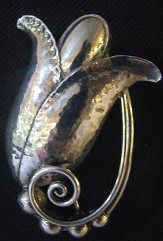 vintage georg jensen silver jewelry - Google Search
