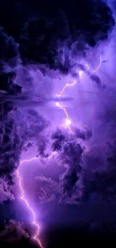 purple lightning...