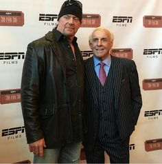 The phenom The Undertaker came to support Ric Flair's 30 for 30 on ESPN special