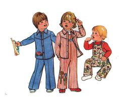 Toddler Pattern OVERALLS Dungarees Coveralls by HoneymoonBus, $6.99