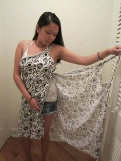 Sew....making this....DIY BEACH WRAP....Love this project.
