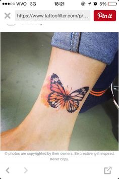 Borboleta Tattoo