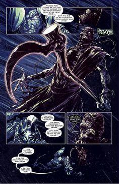 Dark Fantasy Art, Fantasy Artwork, Fantasy World, Black Lantern, Green Lanterns, Dc Comics Vs Marvel, Demon Art, Horror Comics, Comic Character