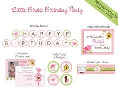 Bird 1st Birthday Pa