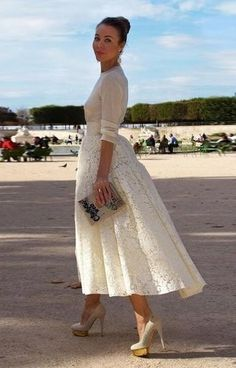 hochzeit im winter was anziehen 50 beste Outfits - hochzeitskleider-damenmode.de, Pretty Much Perfect:):) The way a lady should look! Look Fashion, Street Fashion, Womens Fashion, Fashion 2015, Fashion Models, Spring Fashion, Fashion Trends, Pretty Dresses, Beautiful Dresses