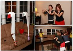 Minute to Win It Party - really hilarious game ideas for adults and kids. Fun times with friends and family.