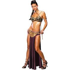 Sexy Princess Leia Slave Adult Costume #sexy womens costumes #sexy halloween costumes