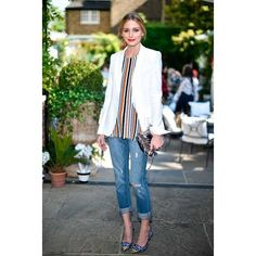 Celebrity Style ❤ liked on Polyvore featuring olivia palermo