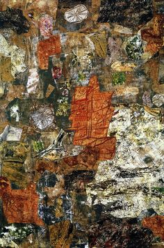 Jean Dubuffet Analyse du Sol | 1957. Oil on canvas. 137 x 93 cm. Private collection.