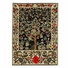 "Tree of life tapestry - Historic Royal Palaces online gift shop is only 18"" x 2' but lovely"