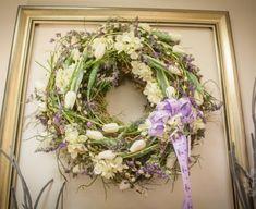 Grapevine Wreath, Grape Vines, Floral Wreath, Pastel, Wreaths, Spring, Flowers, Wedding, Home Decor