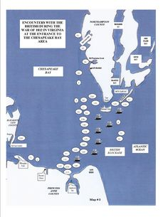 British blockade of Chesapeake