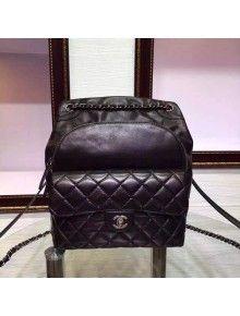 9b7fd4b56c8c Chanel Mini Black Calfskin Boy Flap Bag Fall-Winter 2015 16